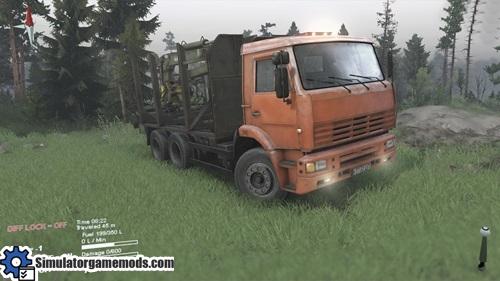 kamaz_65226_truck