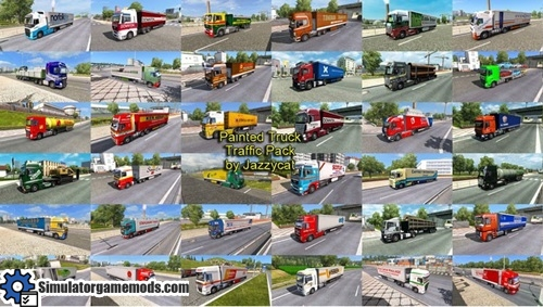 painted_truck_Traffic_mod