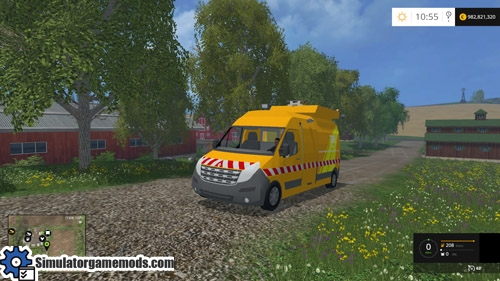 fs 2015 renault master service truck simulator games mods download. Black Bedroom Furniture Sets. Home Design Ideas