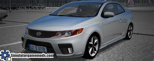 kia forte koup tuned car city car driving 1 5 1 simulator games mods download. Black Bedroom Furniture Sets. Home Design Ideas