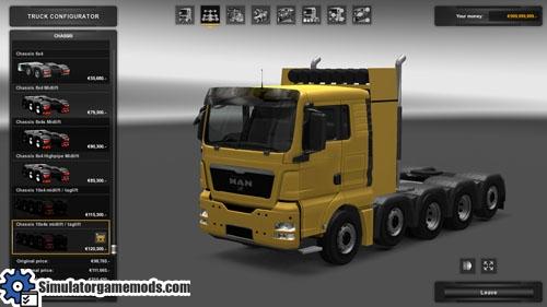 man_tgx_chassis