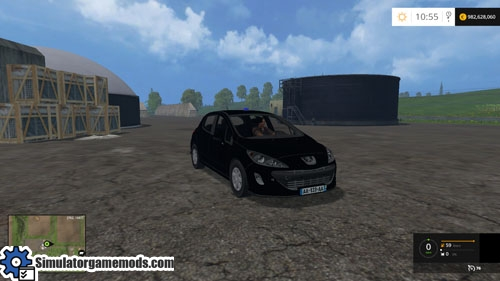 fs 2015 peugeot 308 car mod simulator games mods download. Black Bedroom Furniture Sets. Home Design Ideas