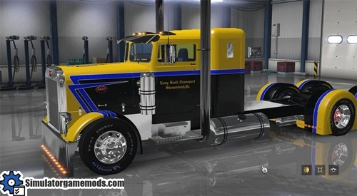 peterbilt_351_yellow_and_black_skin