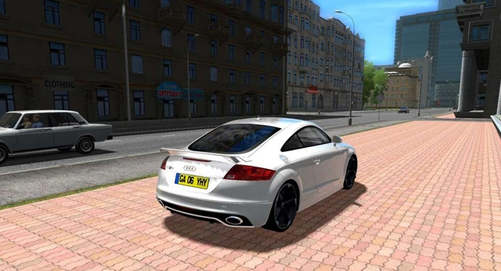 Audi Tt Rs Game: Audi TT RS New Car Mod