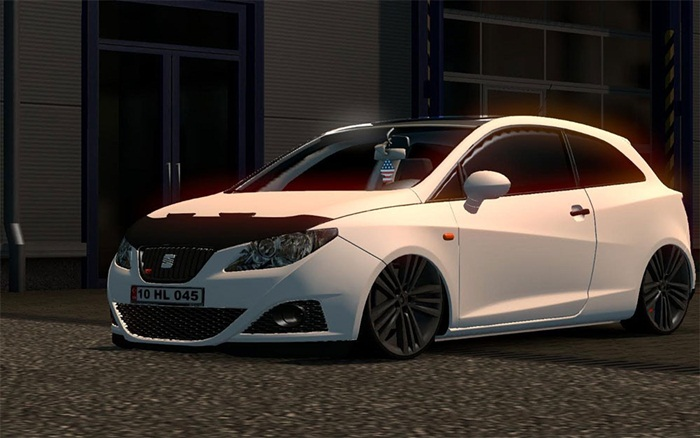 Ets 2 Seat Ibiza Car Mod Simulator Games Mods Download