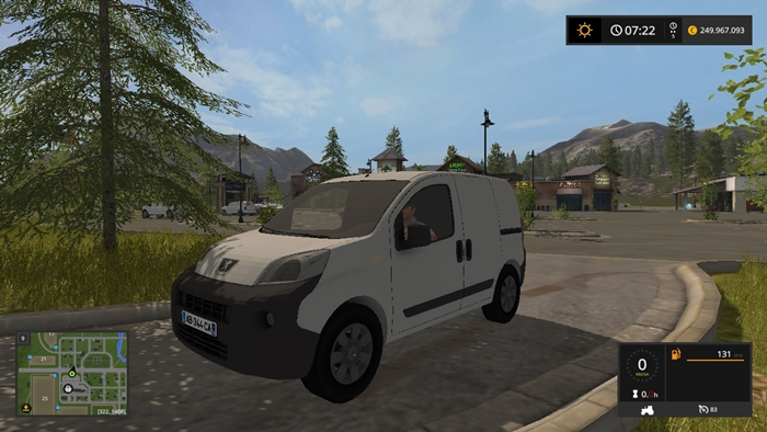 fs17 peugeot bipper simulator games mods download. Black Bedroom Furniture Sets. Home Design Ideas