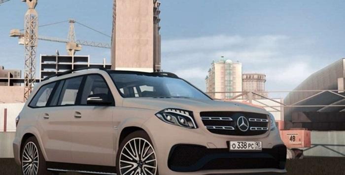 City Car Driving 1 5 2 Mercedes Gls63 Amg Car Mod Simulator Games Mods Download