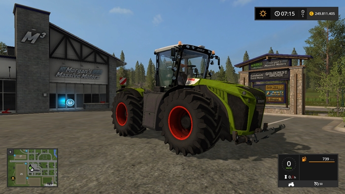 Fs17 Claas Xerion 5000 Full Edition Simulator Games