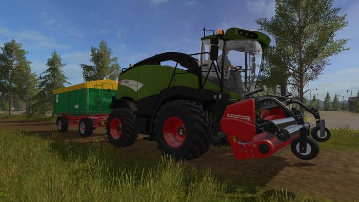 Fs17 Fendt Katana 85 Forage Harvester V1 0 Simulator