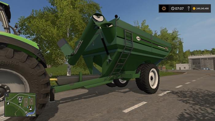 Fs17 J Amp M 1412 Wagon Trailer V1 Simulator Games Mods