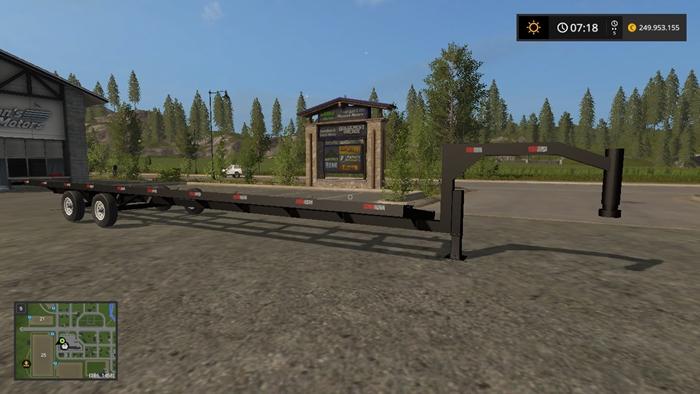 Car Simulator Games >> FS17 – Maurer Gooseneck Header Trailer V 1.0 – Simulator Games Mods Download