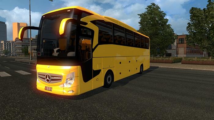 ets 2 mercedes benz travego 2016 bus mod simulator. Black Bedroom Furniture Sets. Home Design Ideas