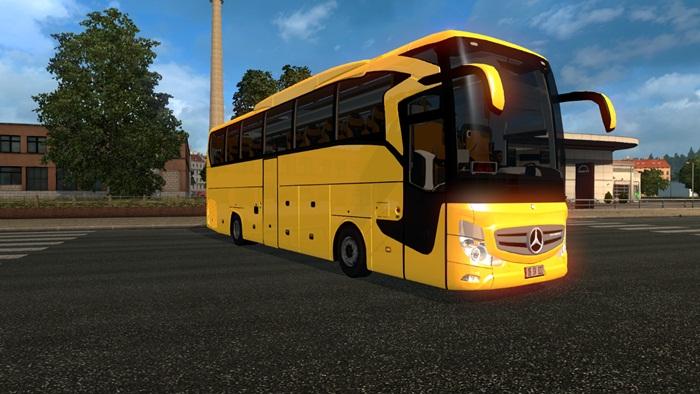 Ets 2 Mercedes Benz Travego 2016 Bus Mod Simulator