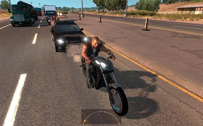 motorcycle-harley-davidson-police-in-traffic-mod