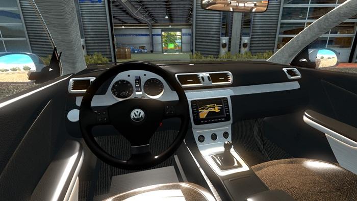 ets 2 volkswagen passat car mod simulator games mods download. Black Bedroom Furniture Sets. Home Design Ideas