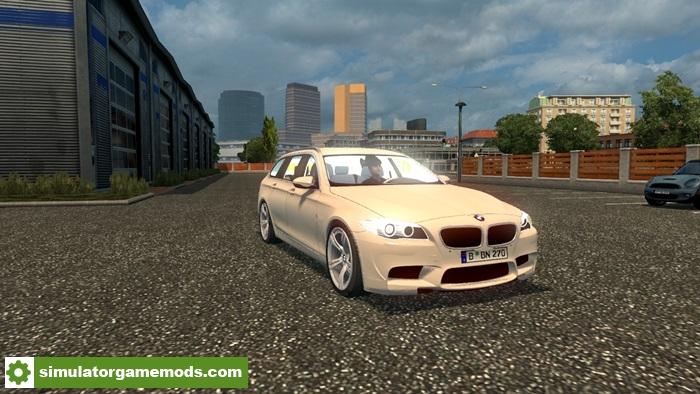Ets 2 Bmw M5 Touring Car Mod Simulator Games Mods Download