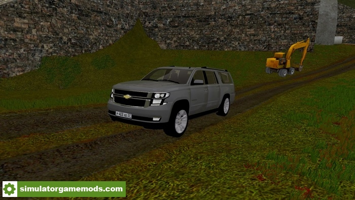 City Car Driving 1.5.2 – Chevrolet Suburban 2016 Car Mod ...