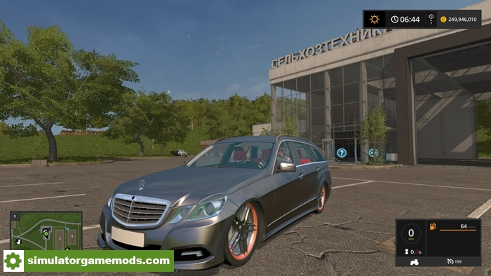 Fs17 Mercedes E350 Cdi on mercedes benz e350 2011