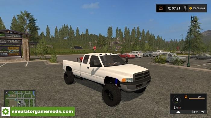 FS17 – Second Gen Dodge Cummins – Simulator Games Mods Download