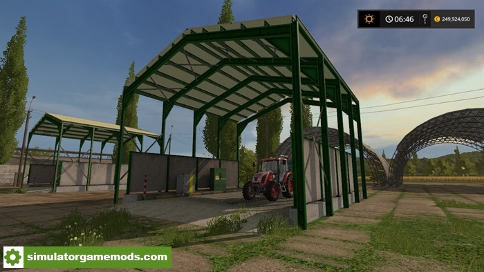 fs17 placeable station de lavage v4 simulator games. Black Bedroom Furniture Sets. Home Design Ideas
