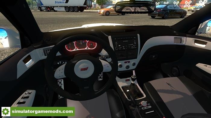 Ets 2 Subaru Impreza Wrx Sti V1 Simulator Games Mods Download