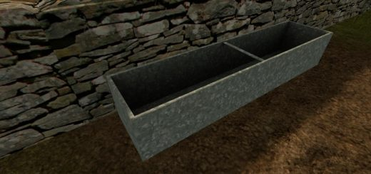 galvanised_water_trough_objects
