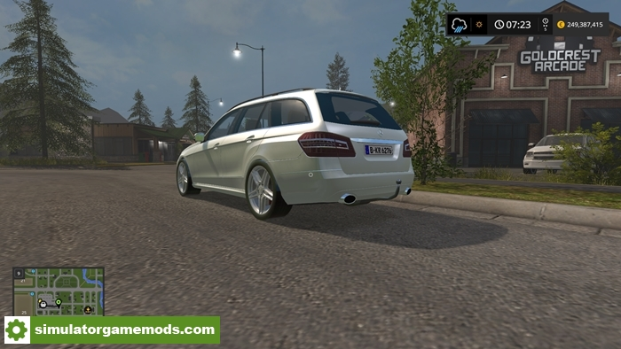 Fs17 mercedes benz e350 cdi simulator games mods download for Mercedes benz games