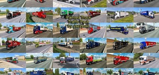 painted_truck_traffic_pack
