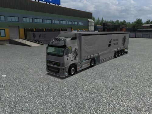 Volvo Wolftruck and Trailer German Truck Simulator