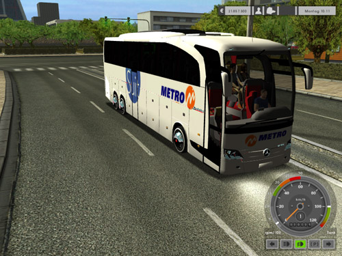 2012 Metro tourism Suit Double Axle Travego