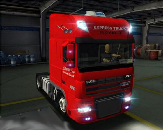 Daf-XF105-Express-Truck