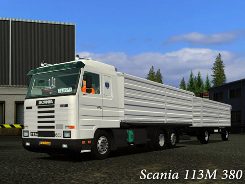 Scania 113M 380 German Truck Simulator