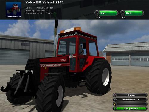 Volvo DM valmet 2105