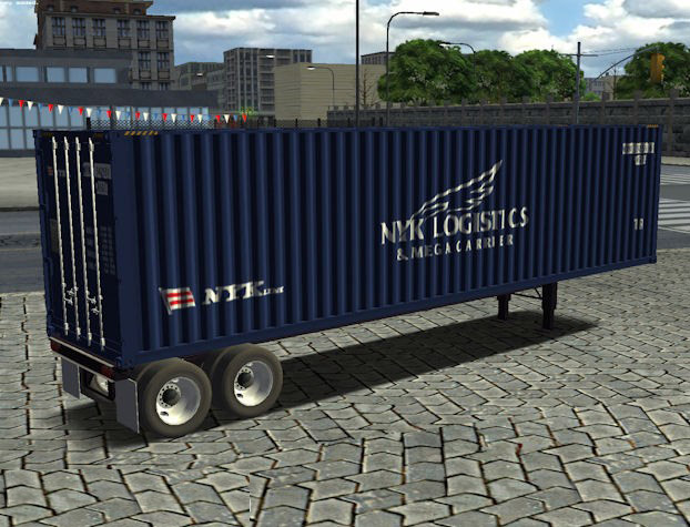 American Style Container Trailer (18WoSHaulin)
