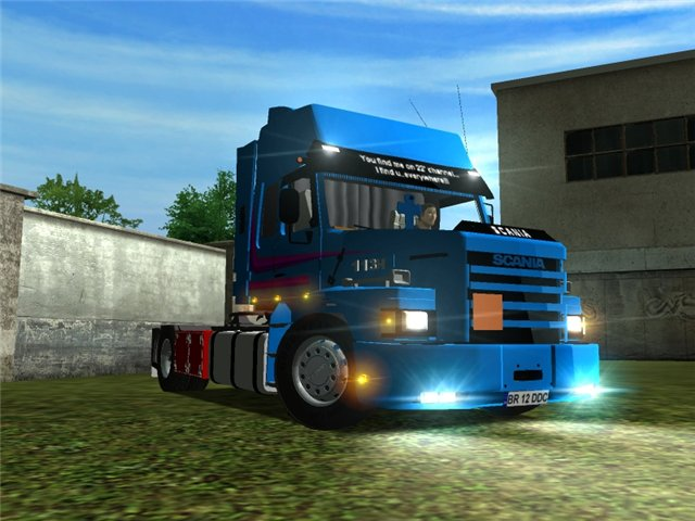 ETS Scania 113H Powerful Truck