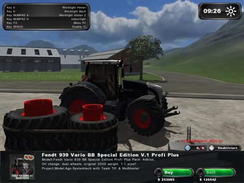 Fendt 939 Black [Best Tractor]
