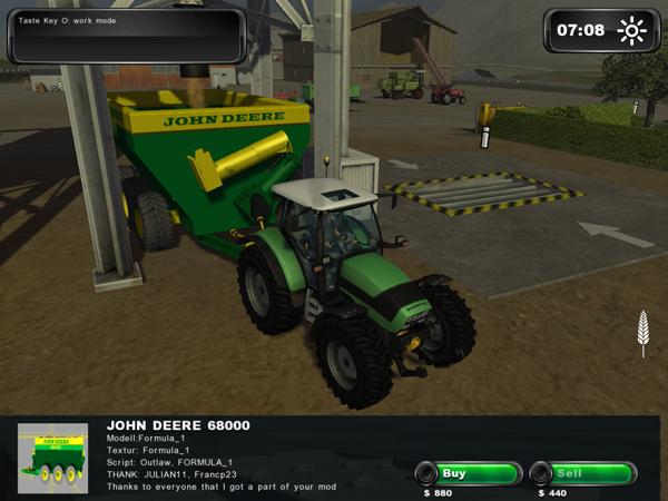 John Deere 68000