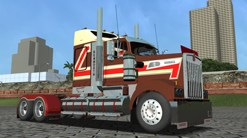 Kenworth T908 18 Wos Haulin