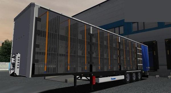 Krone-Gitterbox-Trailer