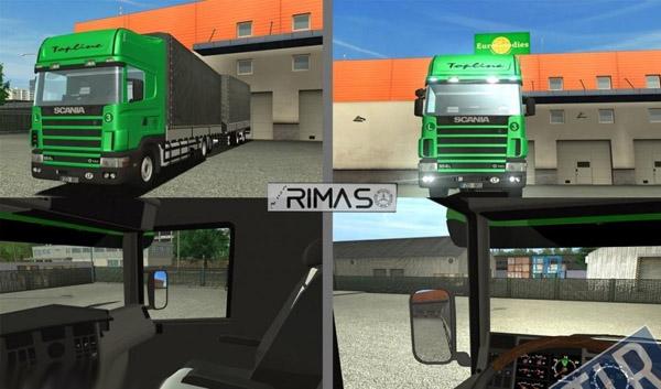 Scania 164L 480 hp