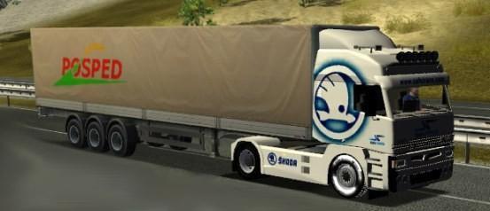 Skoda Xena Euro Truck Simulator