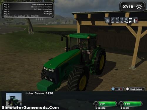 John Deere 8120