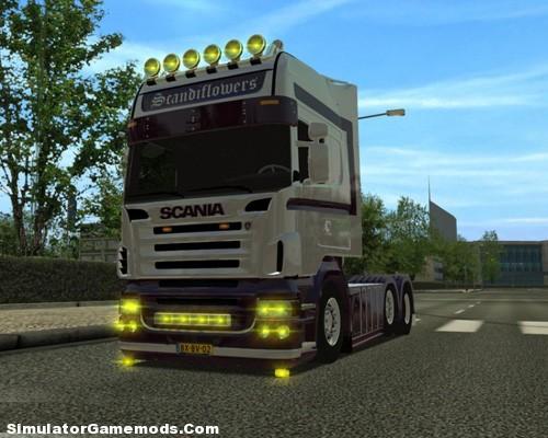 Scania-Flower kopya