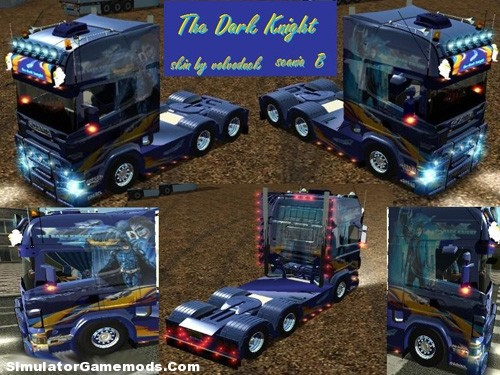 Scania-the-dark-knight