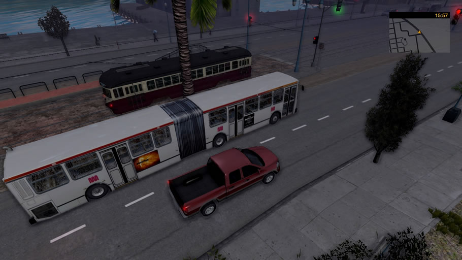 How to download & install bus & cable car simulator san.