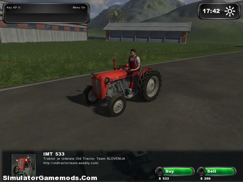 IMT 533 Old Tractor | Simulator Games Mods Download