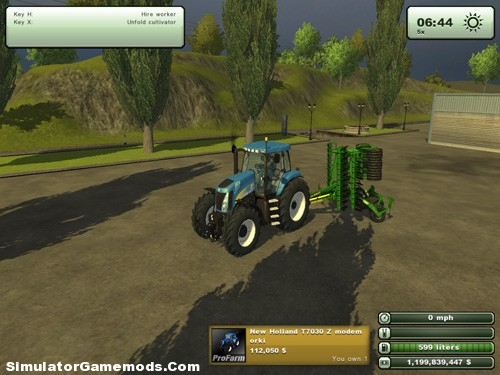 New Holland T7030 Z – Simulator Games Mods Download