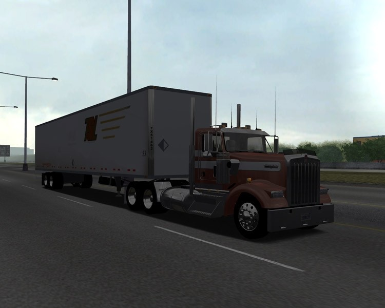 Kenworth-W900L-Day-Cab
