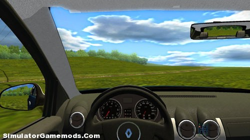 renault sandero game version 1 2 4 simulator games mods download. Black Bedroom Furniture Sets. Home Design Ideas