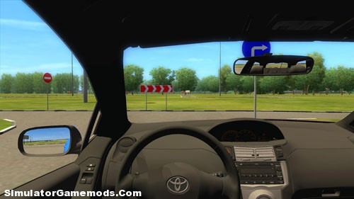 toyota yaris game version 1 2 4 simulator games mods download. Black Bedroom Furniture Sets. Home Design Ideas
